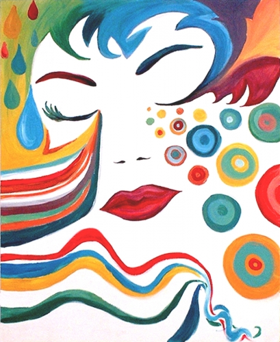 Psychedelic Woman