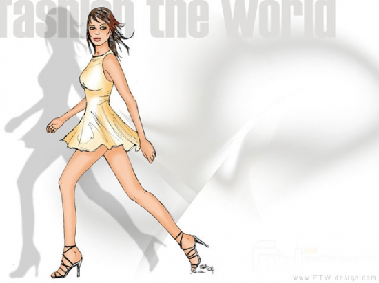 Gold Fashion The World